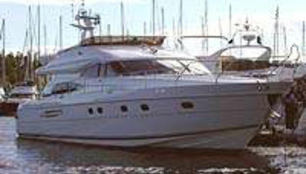 <strong>Dyr drøm:</strong> Pincess 65, med en pris på 11 millioner, var messens dyreste båt. Men det er lov å drømme...