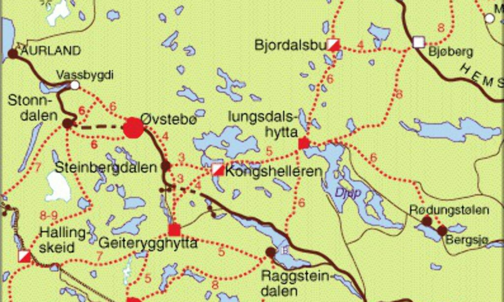 kart over aurlandsdalen Reise: Kart: Aurlandsdalen   DinSide kart over aurlandsdalen