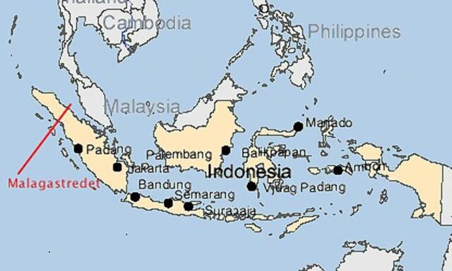 kart indonesia Reise: Kart over Indonesia   DinSide