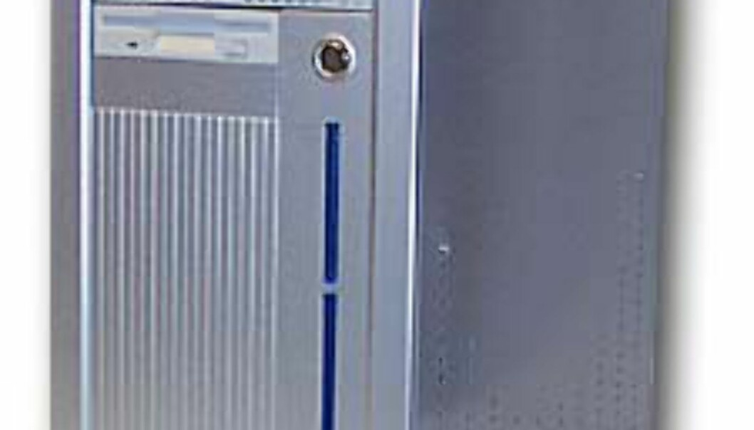 Rålekker 1 GHz Pentium fra Fujitsu Siemens