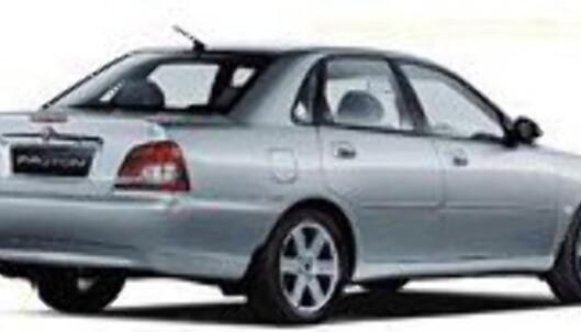 "<strong>KANSKJE LITT Å TA I:</strong> ""Waja has all the things you want in a luxury car, and more"", skriver Proton. Vel..."