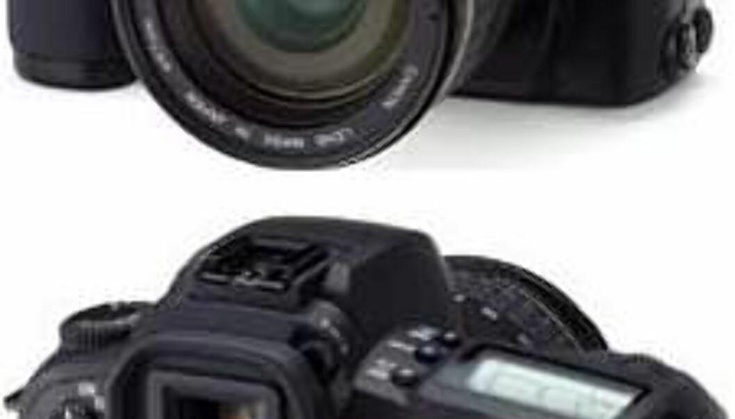 Rimelig digital speilrefleks fra Canon