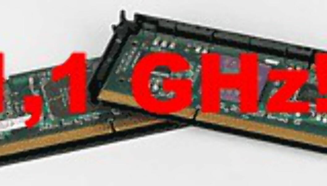 AMD demonstrerer Athlon på 1,1 GHz!
