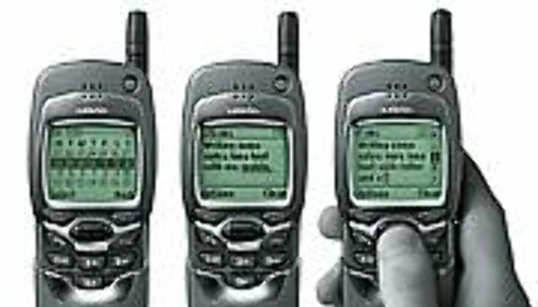 Nokia 7110 blir etter alt å dømme den første WAP-mobilen som blir tilgjengelig for vanlige brukere.