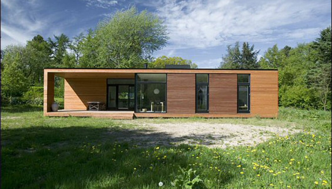 <i>Det danske hus</i> fra Nordbohus. <i>Bildet er gjengitt med tillatelse fra produsenten.</i>