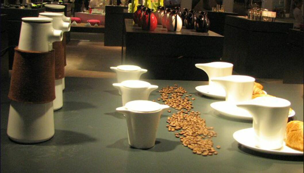 <strong>Flere nyheter fra Stelton:</strong> Så er det kaffebesøk...