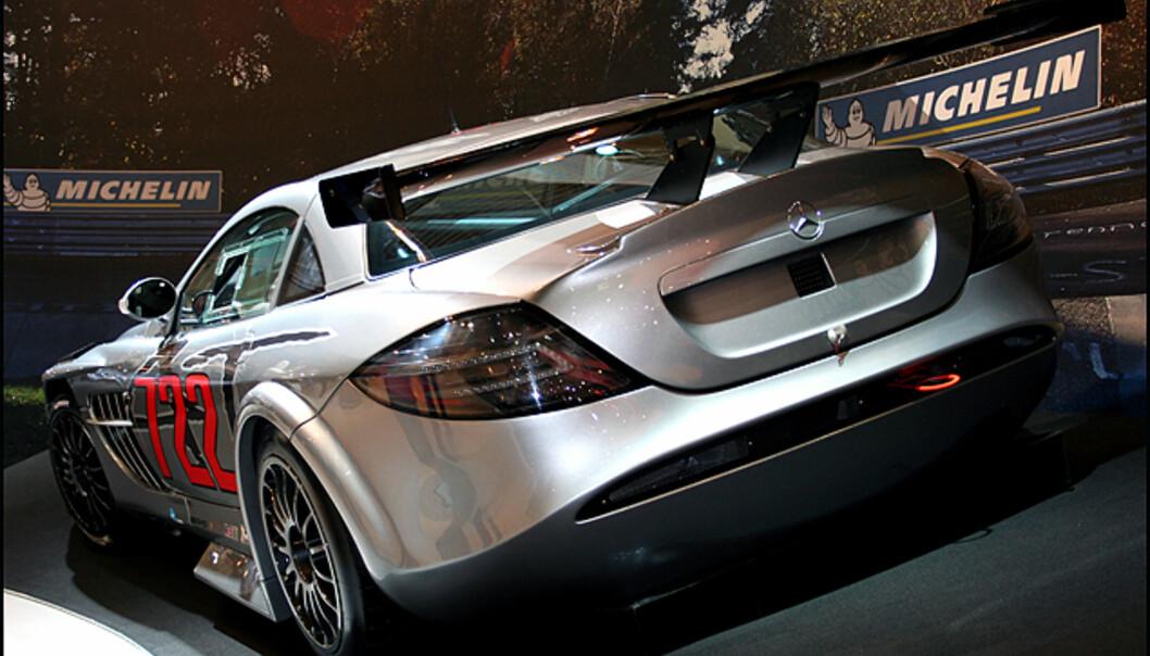 "En Mercedes SLR 722 ""i farta"""