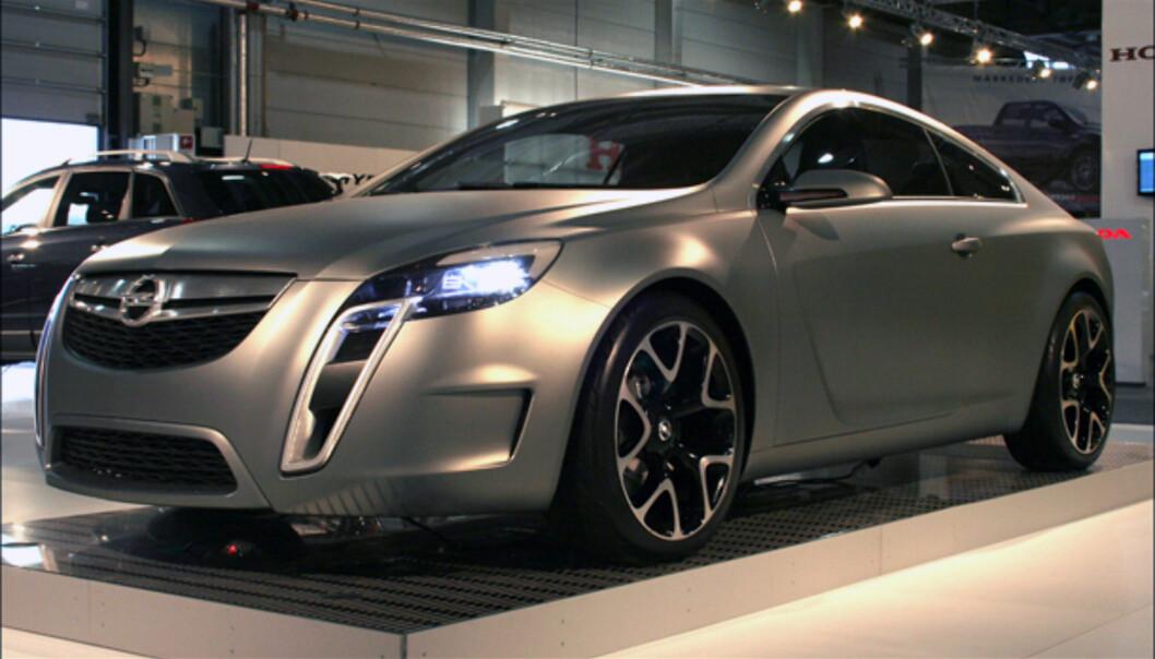 Konseptbilen Opel GTC kan gi et hint om hvordan neste Opel Vectra vil se ut - slik Ford Iosis gjorde med Ford Mondeo (?)