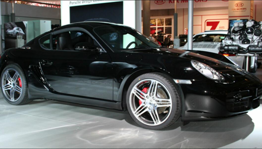 Spesialutgave av Porsche Cayman