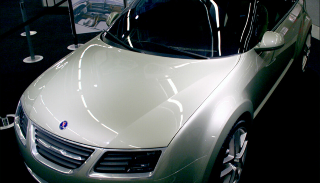 Konseptbilen Saab 9-3X