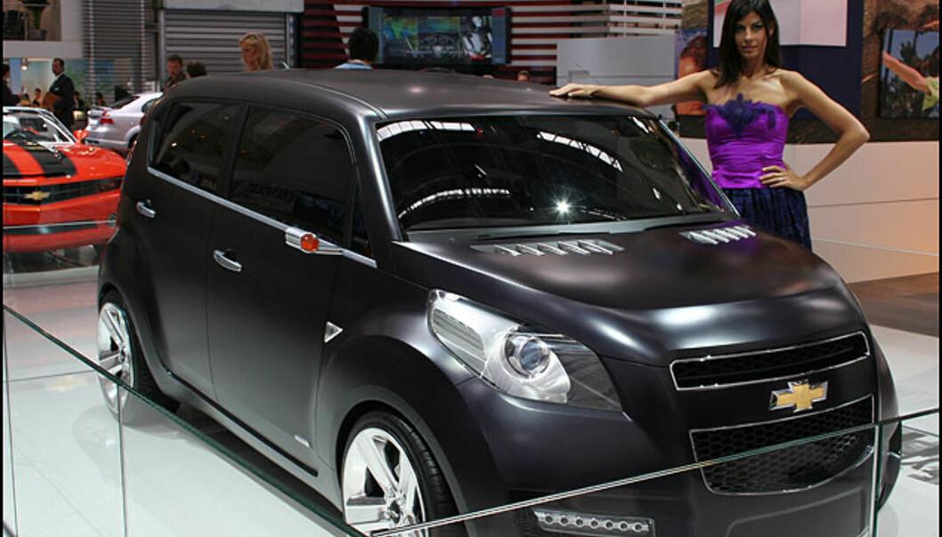 Småbilkonsept fra Chevrolet