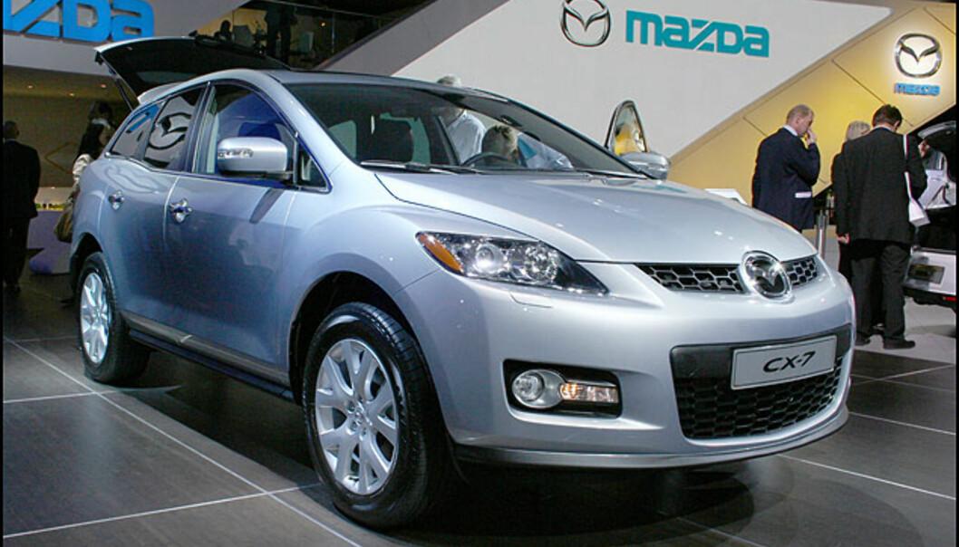 Omsider er Mazda CX-7 i Europa.