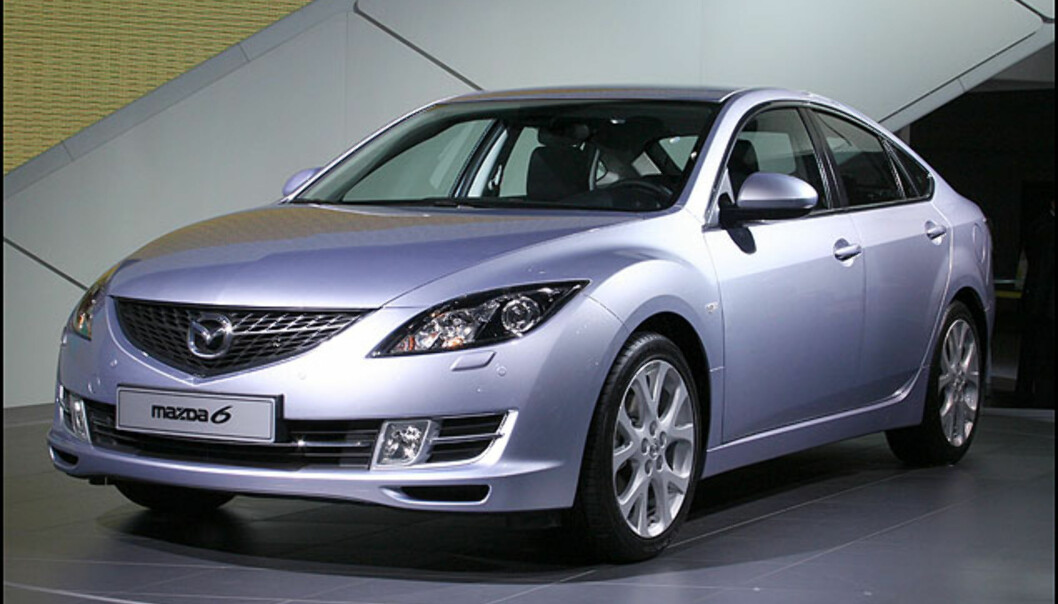 En av showets stjerner: Nye Mazda 6