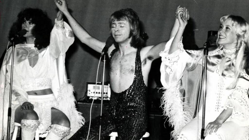ABBA: Agnetha spilte i den svenske storgruppa ABBA fram til gruppa ble oppløst på 80-tallet. Her fra en konsert i Oslo. F.v. Anni-Frid Lyngstad, Björn Ulvaeus og Agnetha Fältskog. Foto:  Svein Boye Andersen/Dagbladet