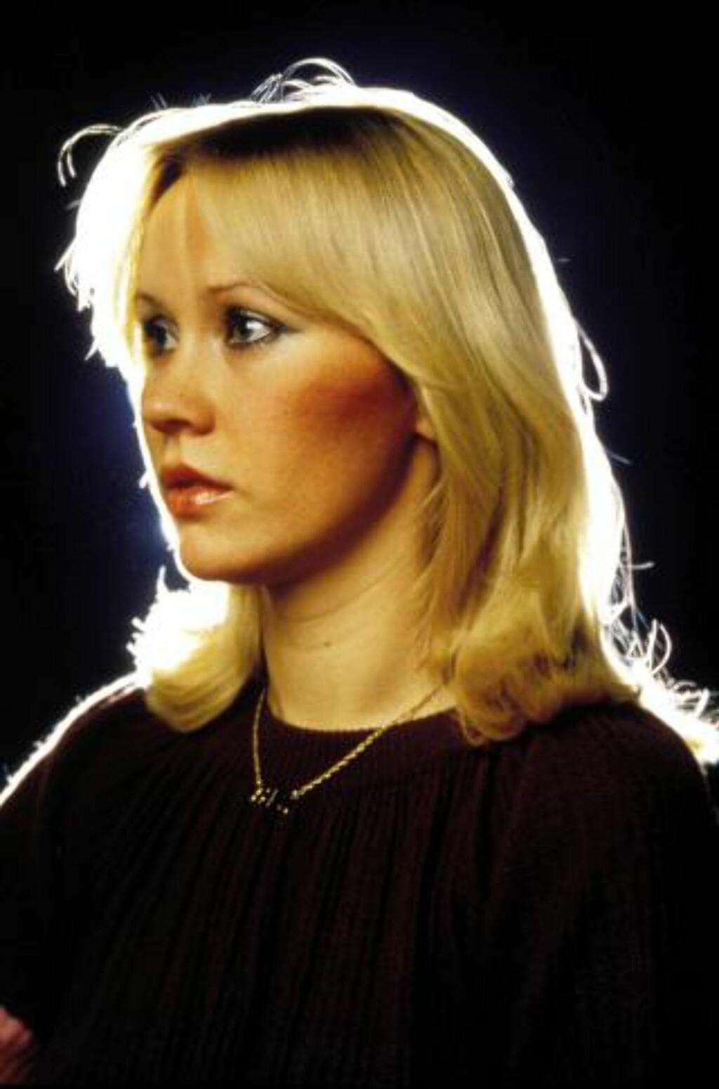 AGNETHA: ABBA ble splittet i 1982. Siden da har Fältskog holdt seg utenfor rampelyset siden. Foto: Stella Pictures