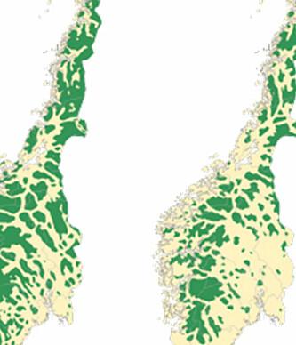 - I Sør-Norge er nesten all villmark helt borte