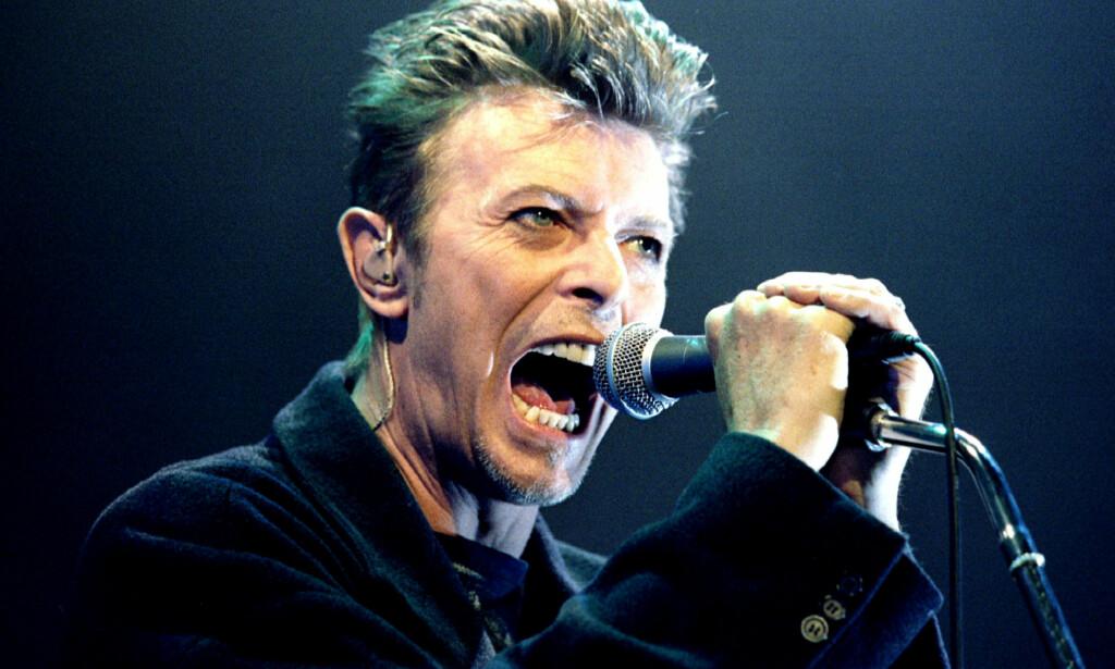 ASKE-RYKTER: Søndag skrev flere medier at David Bowies aske var spredd utover en festival i Nevada. Det viser seg nå å være falskt, og sønnen går hardt ut mot rykteflommen. Foto: REUTERS/Leonhard Foeger, NTB scanpix