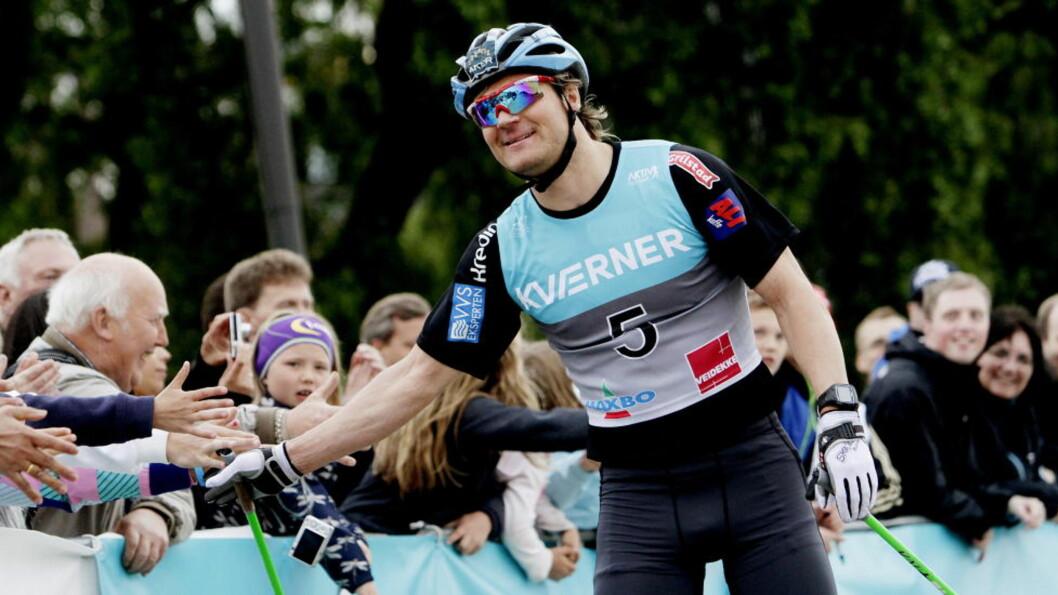 BEST:  Øystein Pettersen knuste alle på 15 kilometeren i Sandnes sentrum. Her fra Oslo skishow i fjor. Foto: Stian Lysberg Solum / NTB scanpix