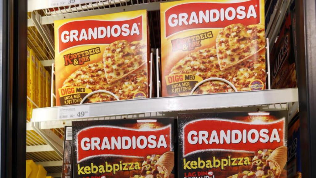 KONSEKVENS: Grandiosa pizza vil ikke lengre komme fra Stabburet, men fra Orkla Foods Norge. Foto: Lise Åserud / NTB scanpix