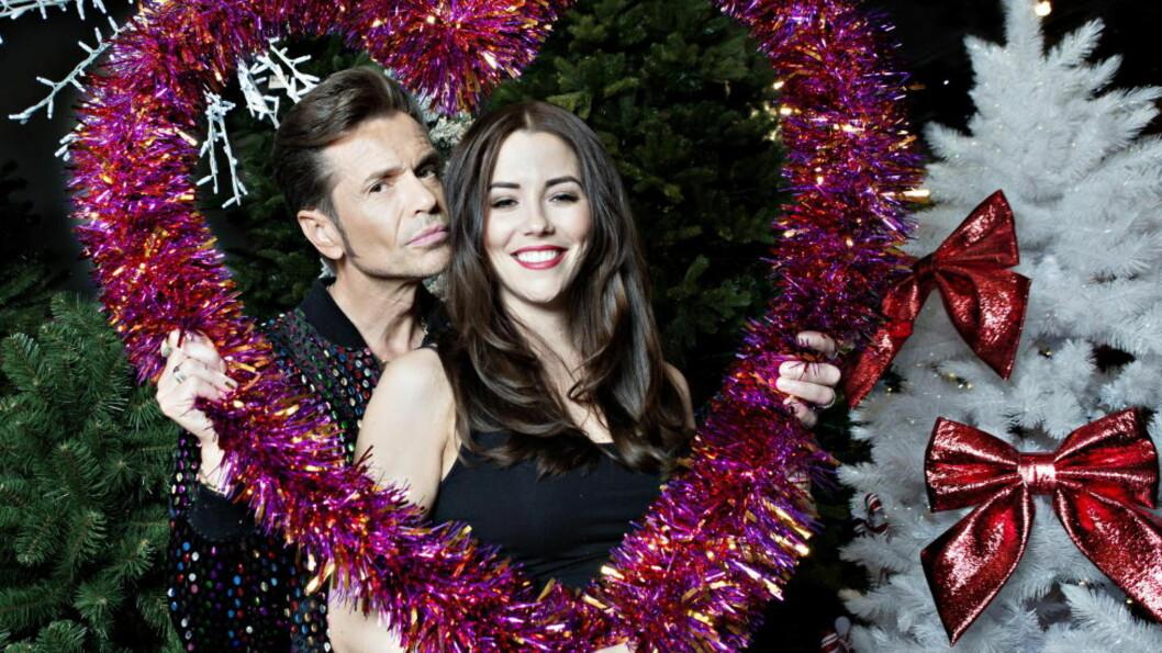 HETT PAR: Marion Ravn er årets gjest i juleshowet til bandet Penthouse Playboys, der Jens Pikenes er bandets førsteforfører. Foto. Nina Hansen