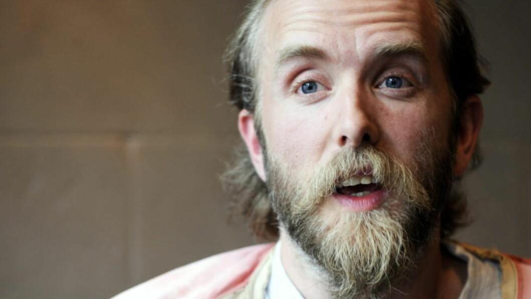 LØSLATT:  Varg Vikernes (40) ble i juni løslatt etter at fransk politi ikke kunne føre bevis mot Vikernes som ga grunnlag for en siktelse om terrorplanlegging. Foto: Ingun Mæhlum.