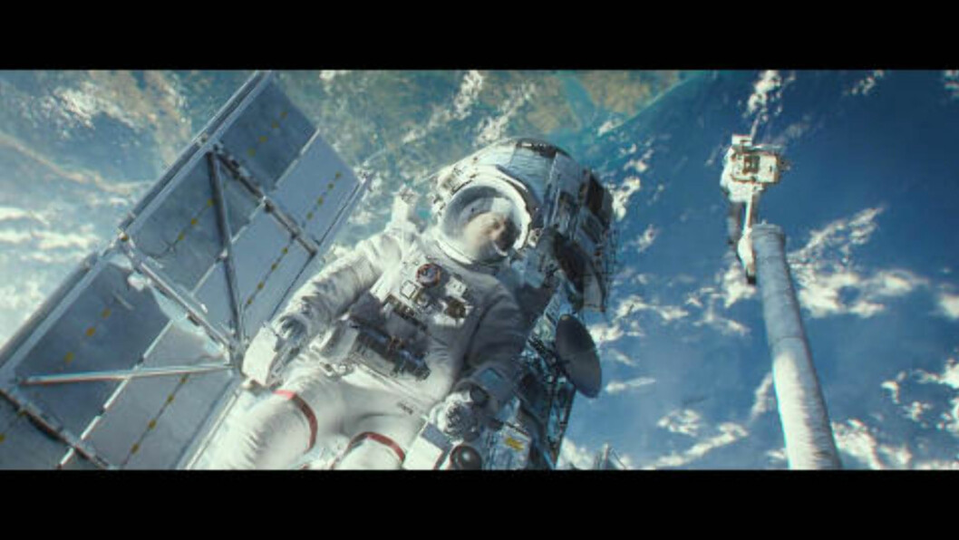 <strong>KRITIKERROST:</strong> «Jeg ble fullstedig grepet av den enorme spenningen og de fantastiske bildene», skriver Forbes anmelder om filmen «Gravity». Foto: Stella Pictures