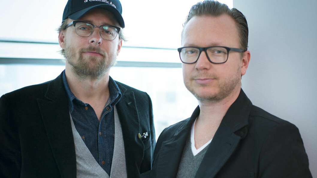 Ny jobb: Regissørduoen Espen Sandberg og Joachim Rønning sier fra seg regijobben i storfilmen «Beatles», men skal fortsette i prosjektet som produsenter. Foto: AP / Scanpix
