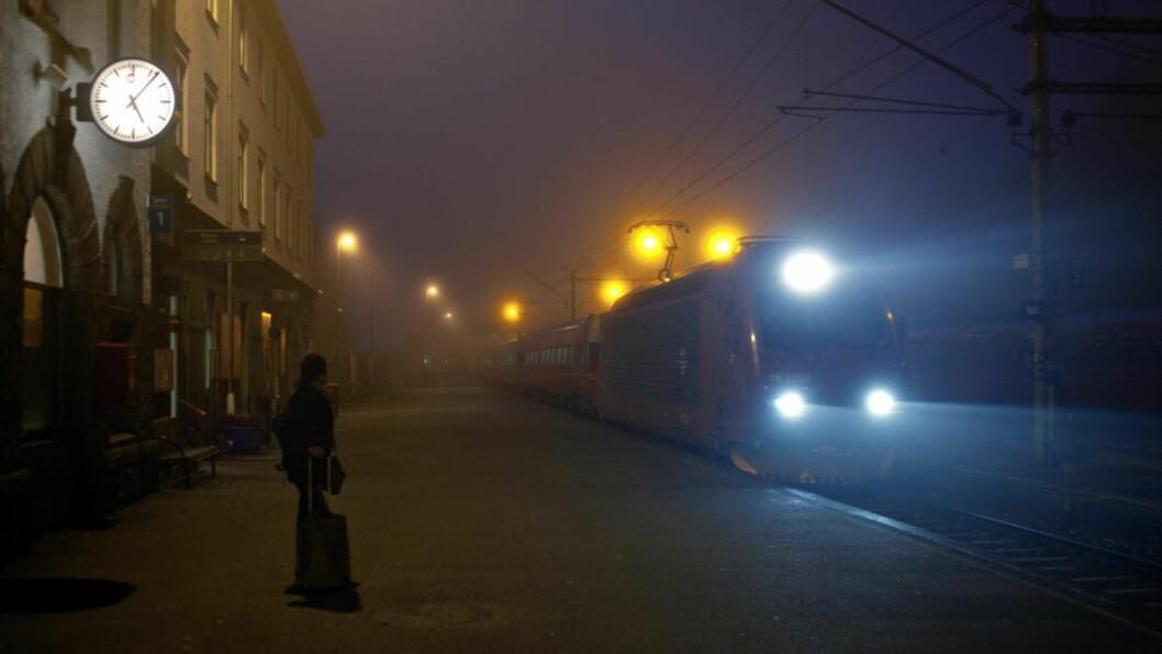 <strong>DYR:</strong> Voss jernbanestasjon. Arkivfoto: Lars Eivind Bones / Dagbladet