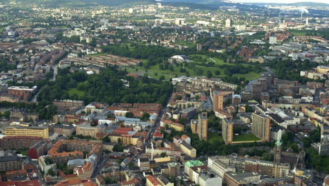 <strong>SKAL OPPGRADERES:</strong> Hele Tøyen bydel skal få en stor ansiktsløfting som følge av forliket i bystyret. Foto: LARS EIVIND BONES / DAGBLADET