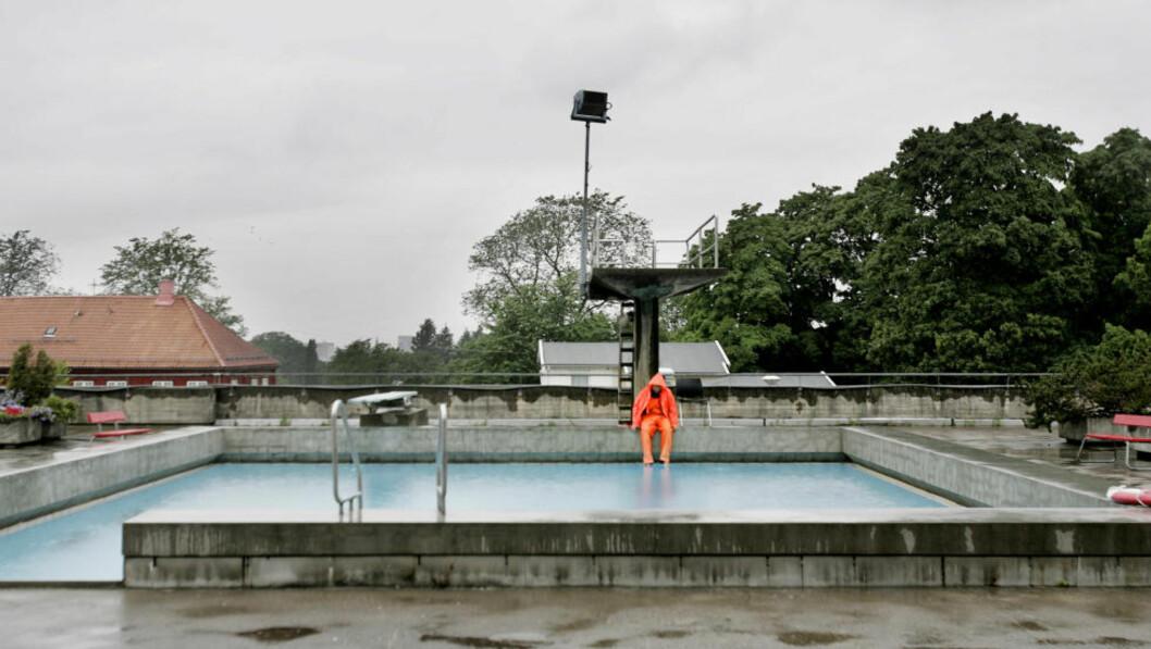 <strong>MOT BEDRE TIDER:</strong> På området der dagens Tøyenbad ligger, skal det komme et nytt badeland med flere basseng. Foto: HÅKON MOSVOLD LARSEN / NTB SCANPIX