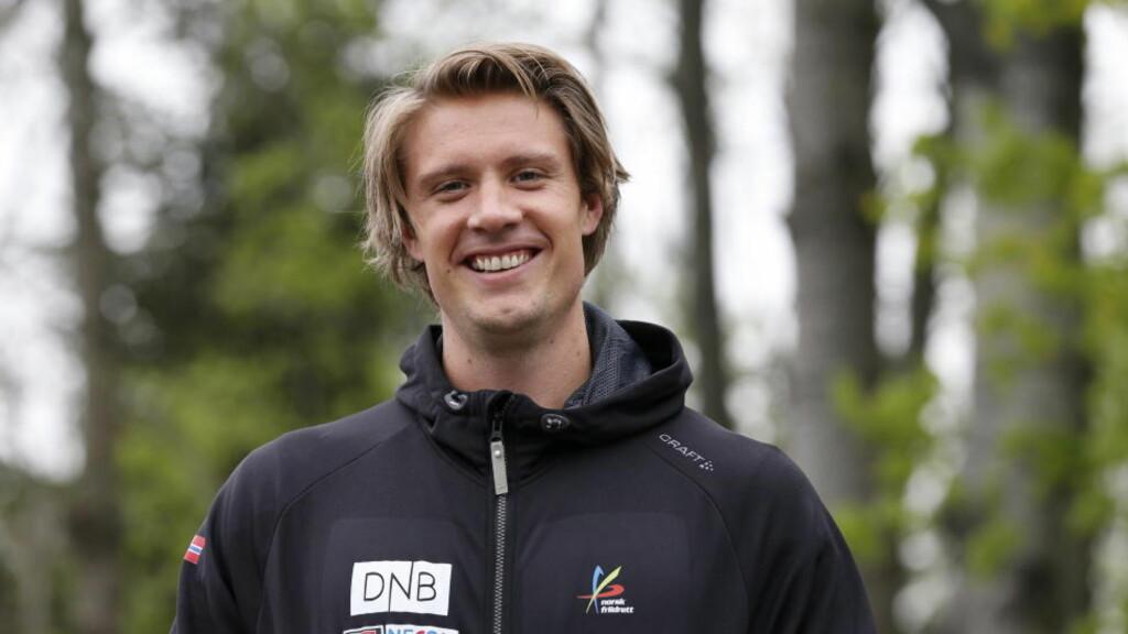 PÅ GANG:  Andreas Thorkildsen er tilbake etter en liten skade, og kastet årsbeste under et stevne i Dessau i dag. Foto: Cornelius Poppe / NTB scanpix