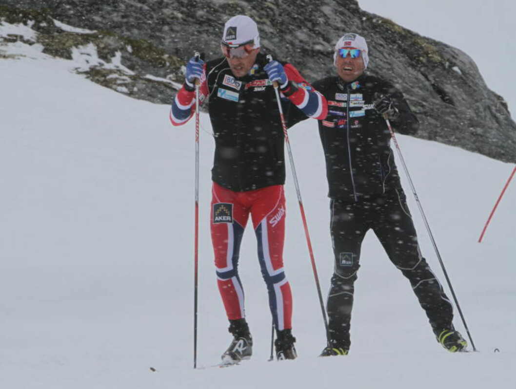 <strong>DRO IKKE LASSET:</strong> Eldar Rønning tror det norske landslaget styrkes av at Northug er borte. Foto: PÅL MARIUS TINGVE / DAGBLADET