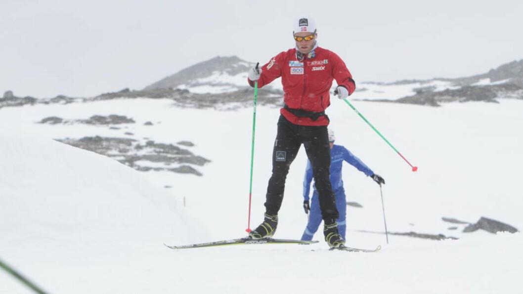 <strong>ANDRE HEVER SEG:</strong> Martin Johnsrud Sundby tror andre løpere er ivrige etter å fylle tomrommet etter VM-kongen som nå trener for seg selv. Foto: PÅL MARIUS TINGVE / DAGBLADET