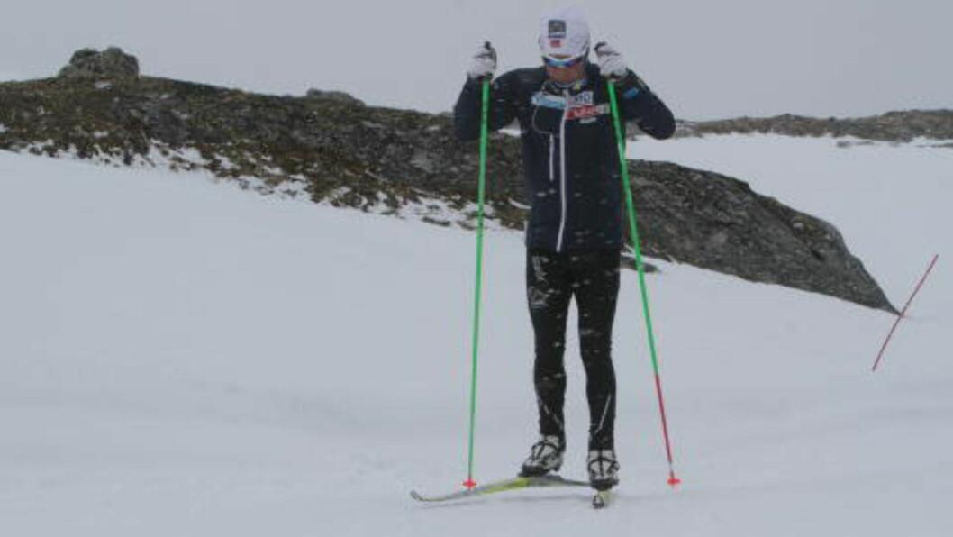 <strong>SATSER PÅ DEN LENGSTE:</strong> Sjur Røthe har satt femmila som sitt fremste OL-mål. Foto: Pål Marius Tingve