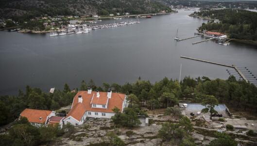 <strong>FIN UTSIKT:</strong> Prinsessen Märtha Louises private landsted ligger med utsikt over Hankøsundet. Foto: Lars Eivind Bones / Dagbladet