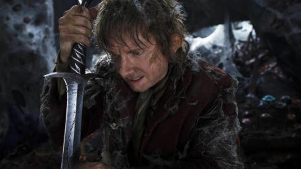 <strong>NUMMER TO I TRILOGIEN:</strong> Martin Freeman spiller hovedrollen som hobbiten Bilbo.