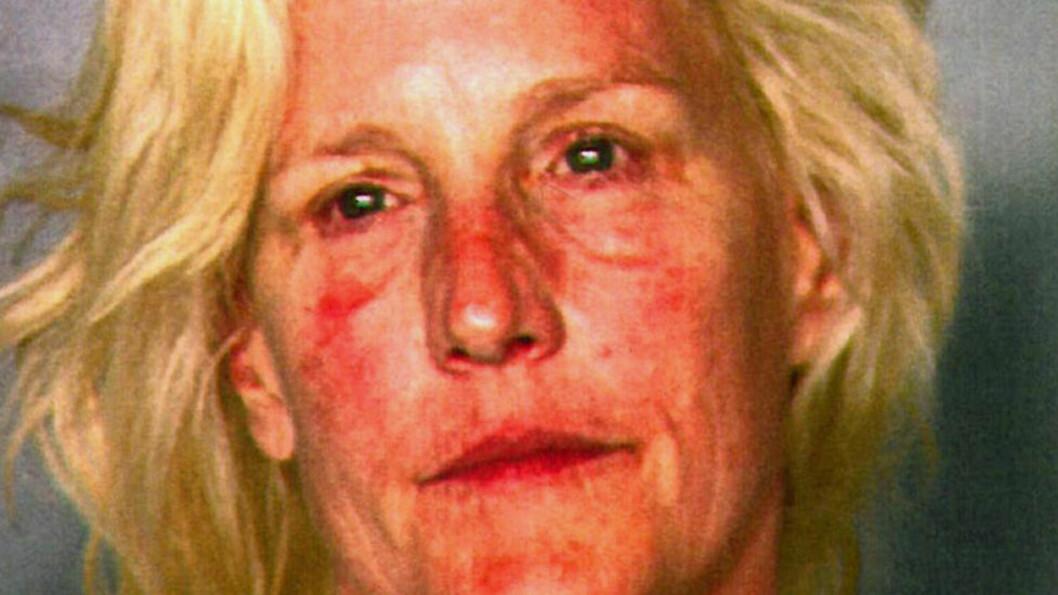 <strong>TATT FOR FYLLEKJØRING:</strong> Bilde av Erin Brockovich (52) tatt på Clark County Dentention Center da hun ble arrestert for fyllekjøring på sjøen. Foto: AP Photo/Clark County Detention Center.