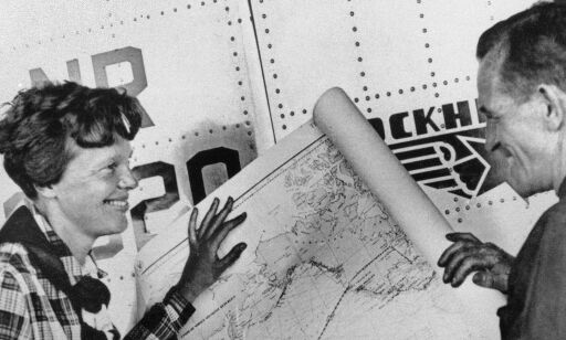 image: Konkluderer med at Amelia Earhart døde på øde øy i Stillehavet