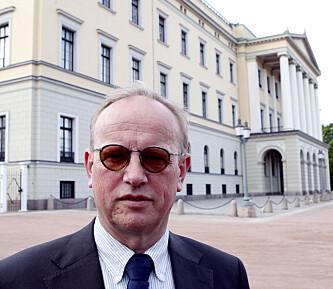 <strong>TAUS:</strong> Dagbladet har bedt Slottsforvalter Ragnar Osnes om et intevju. Henvendelsen er ikke besvart. Foto: Knut Falch / SCANPIX
