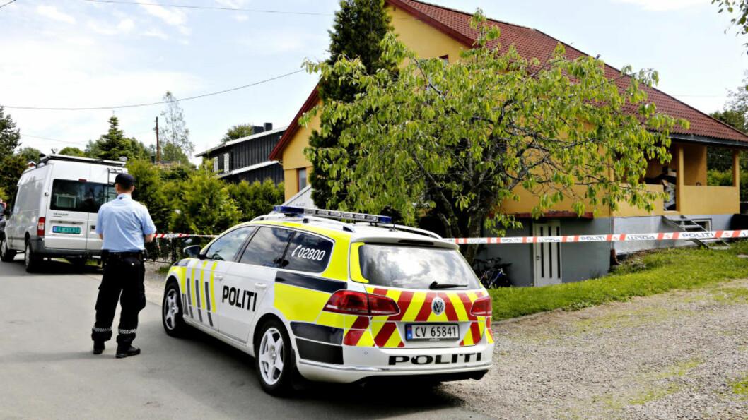 <strong>KVINNE I 50-ÅRENE:</strong> Politiet oppgir at det var en kvinne i 50-årene som ble funnet drept i en enebolig på Jessheim. En mann, også han i 50-årene, er pågrepet og siktet i saken. Foto: Jacques Hvistendahl / Dagbladet