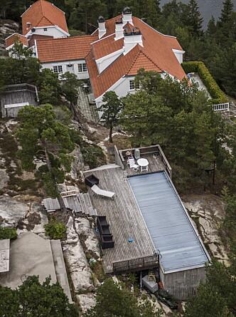 <strong>STRIDENS KJERNE:</strong> Märtha Louises landsted på Hankø. Foto: Lars Eivind Bones / Dagbladet