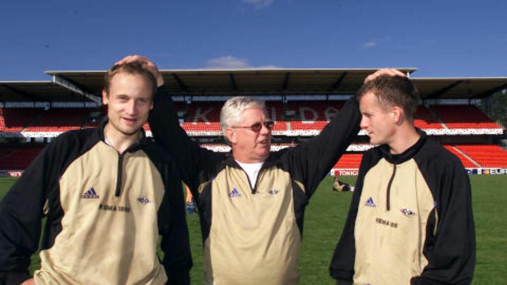 FIKK STÅ IGJEN: Nils Arne Eggen fritok nærmest Sigurd Rushfeldt (t.v.) og Harald Brattbakk for defensive oppgaver. Foto: Gorm Kallestad / NTB Scanpix