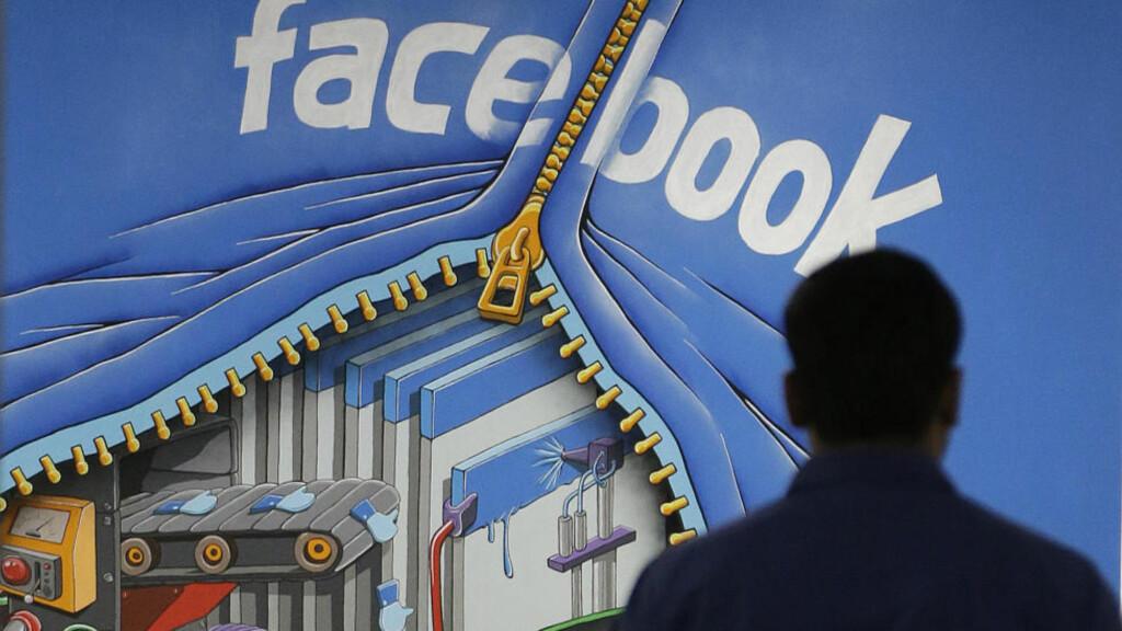STORT SIKKERHETSBRUDD: 22 år gamle Jack Whitton klarte å lure Facebook SMS-system - det fikk han 120 000 kroner for. Foto: AP/Jeff Chiu/NTB Scanpix