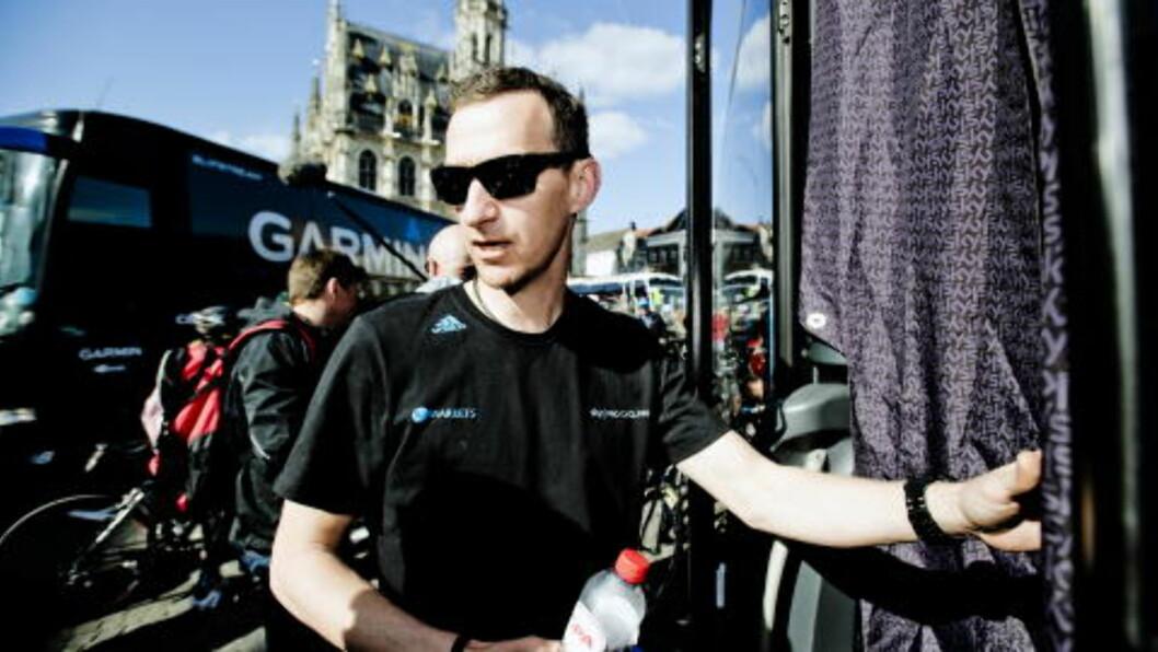 JOBBER I SKY Tidligere proffsyklist Kurt Asle Arvesen. Foto: Thomas Rasmus Skaug / Dagbladet