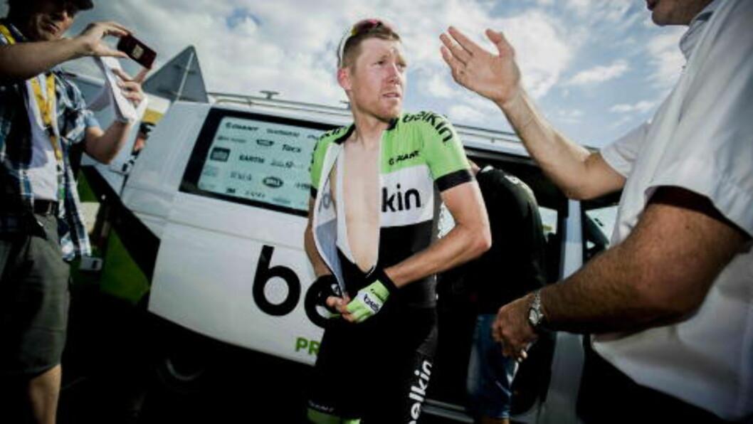 <strong>I FORM:</strong> Lars Petter Nordhaug sier han er i kanonform. .Foto: Thomas Rasmus Skaug / Dagbladet