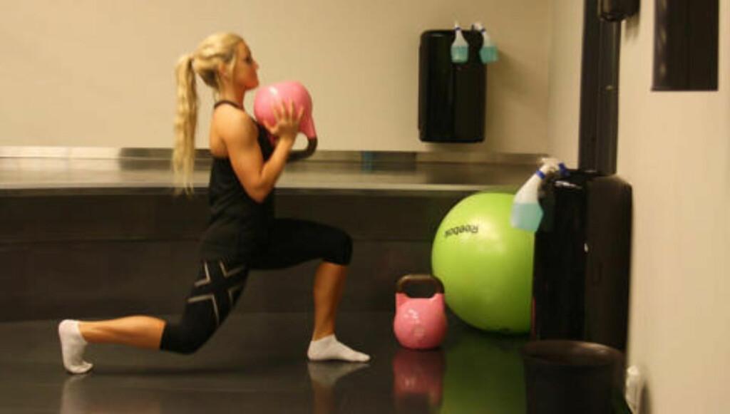 STYRKE: Du må spise nok mat for å bygge muskler. Sterke muskler bygges ikke på underskudd. Foto: Kristine Solhaug