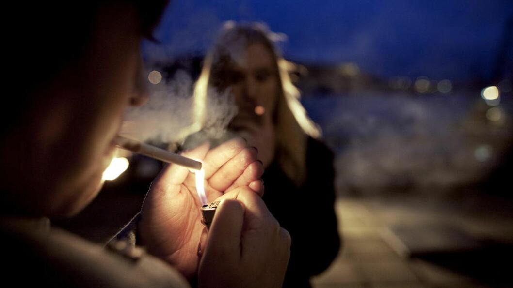 <strong>OPPSIKTSVEKKENDE FUNN:</strong> 20 prosent av hjerteinfarkttilfeller blant kvinner skyldes passiv røyking, viser en fersk norsk studie. Foto: Torbjørn Grønning