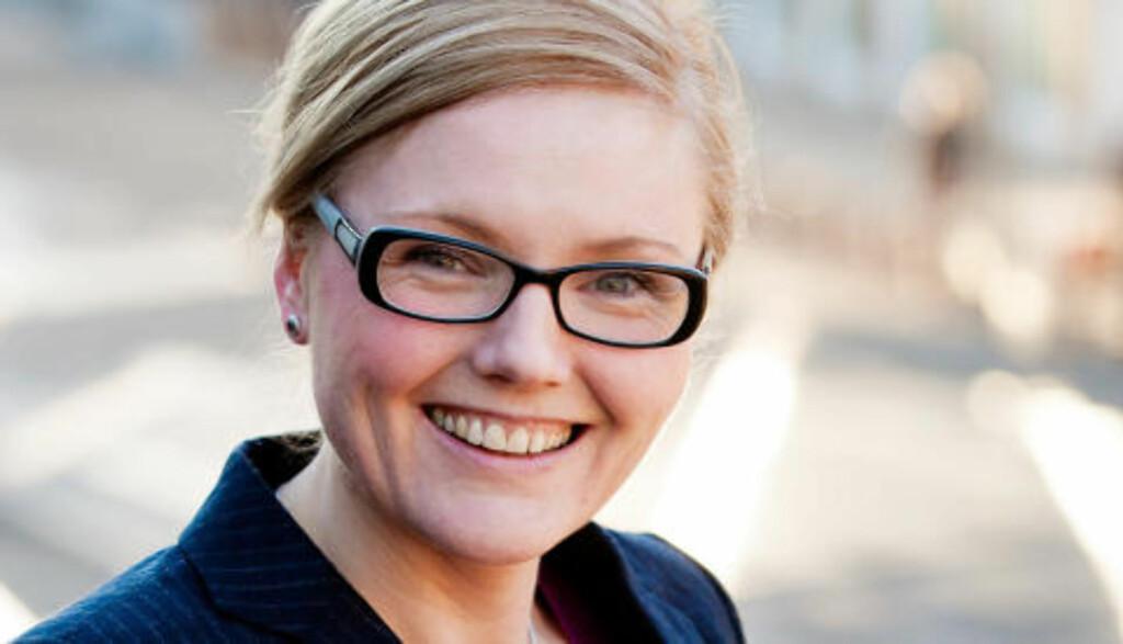 Karianne Gamkinn er forfatter og blogger på mammadamen.com. I dag kommer boka hennes «Beklager, jeg må være mamma» ut på Cappelen Damm.