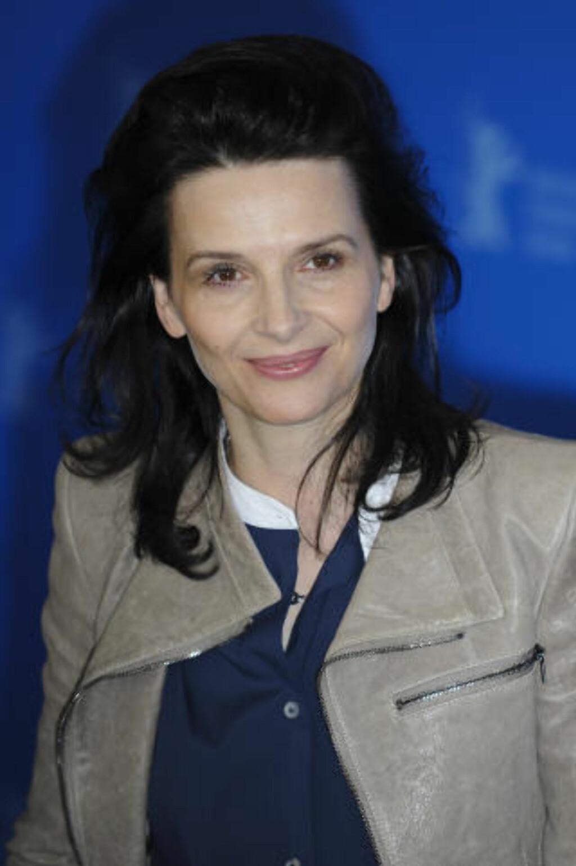 RABIAT: Skuespiller Juliette Binoche er ifølge Erik Poppe både spinnvill og rabiat. Foto: Stella Pictures