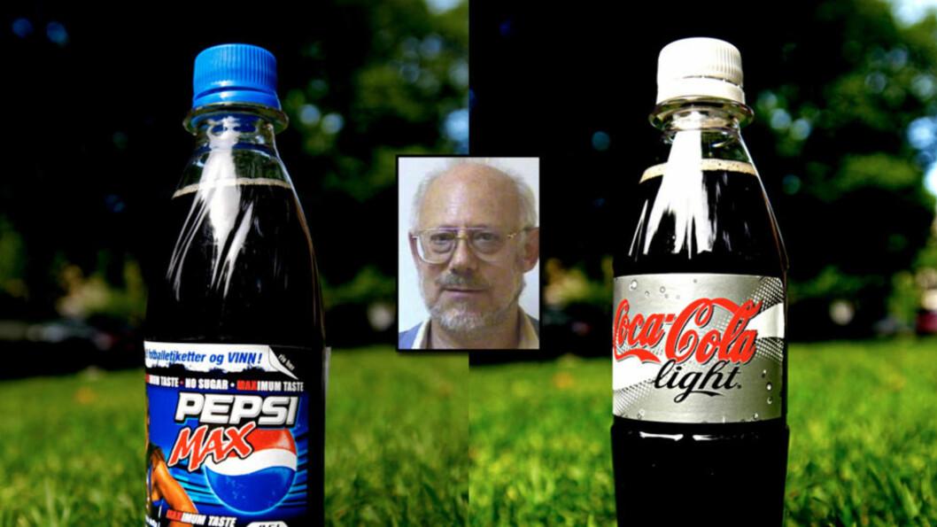 <strong>STERKT KRITISK:</strong> Den britiske professoren Erik Millstone ved Sussex-universitetet stoler ikke på EUs matsikkerhetseksperter når de sier at det kunstige søtningsmiddelet aspartam er trygt. Foto: John Terje Pedersen/Sussex-universitetet